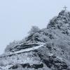 Pinner Kreuz im Schnee