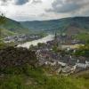 Blick vom Pinnerberg auf Cochem