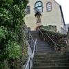 Treppe zum Kapuzinerkloster in Cochem