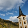 Kirchturm von Bremm/Mosel