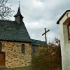 Kreuzkapelle und Kreuzwegstation in Ediger