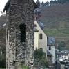 Stadttor, Kapuzinerkloster und Turm von St. Martin